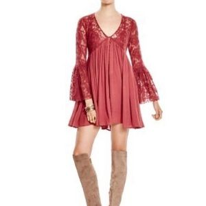 Free people- love-from-india-lace--mini dr…